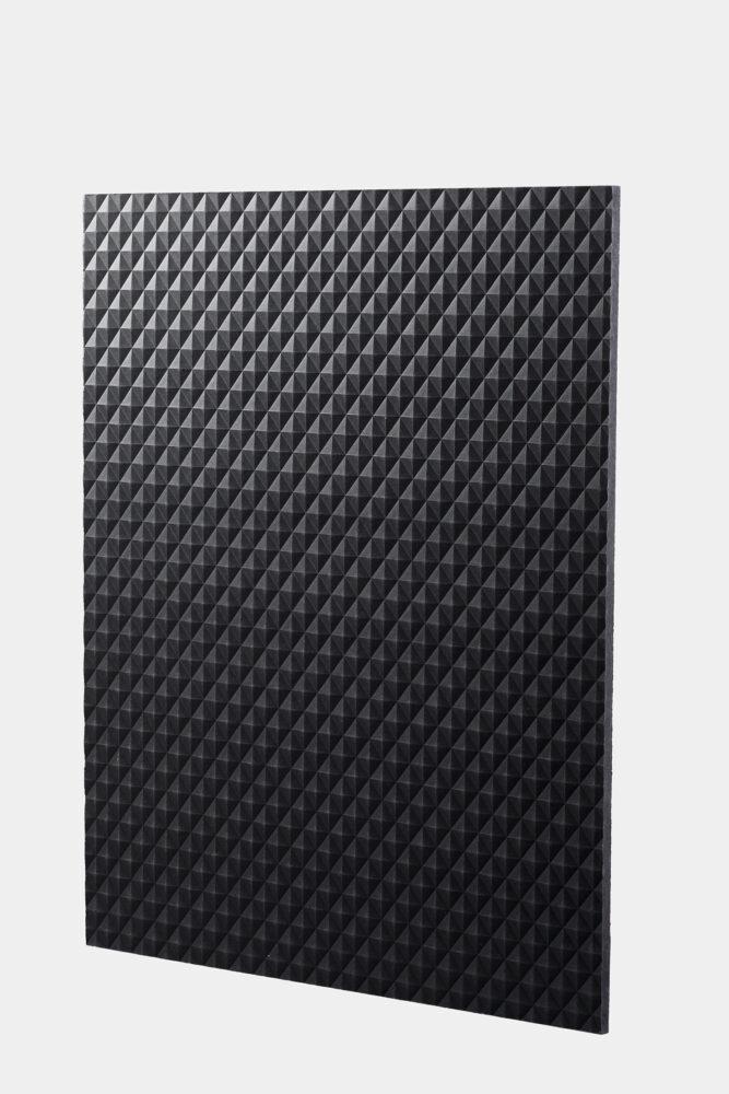 tablero de fibra texturizado